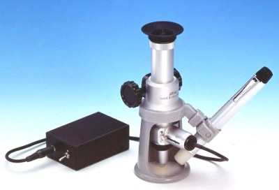 Peak #2054 CIL Wide Stand Microscope 40x to 300x