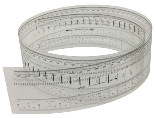 Lithco Ultra High Resolution Transparent Rulers