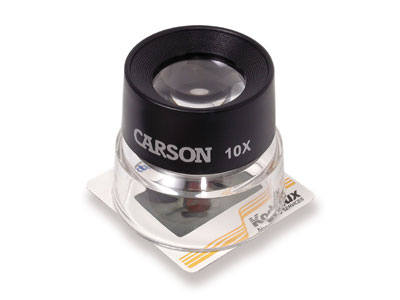 Carson LL-10 LumiLoupe� 10X Stand Magnifier