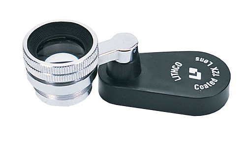 Lithco Swing Base Loupe 12x