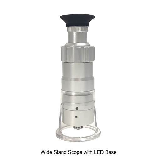 LED Wide Stand Depth Measuring Microscope