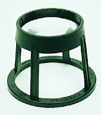 Lithco 5X Round Stand Magnifier