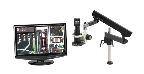 MacroZoom High Definition Video Inspection System - Articulating Assembly Arm