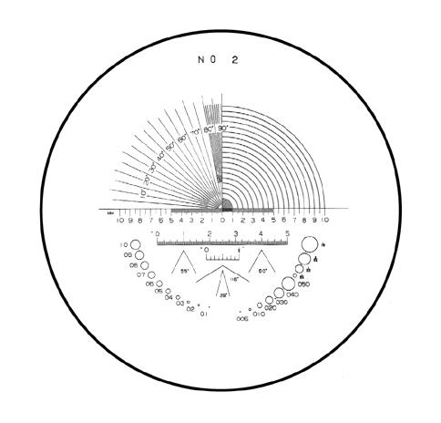 Peak 2016l Light Scale Loupe 15x Peak Optics Magnifiers